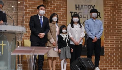 김정일 목사님 가족인사