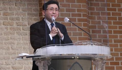 김정일 목사님 첫 설교